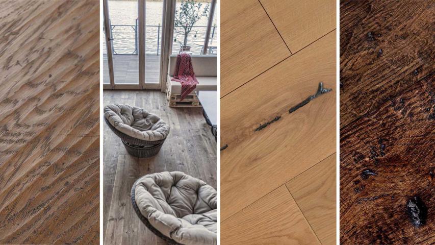 Hitkeukens houten vloeren